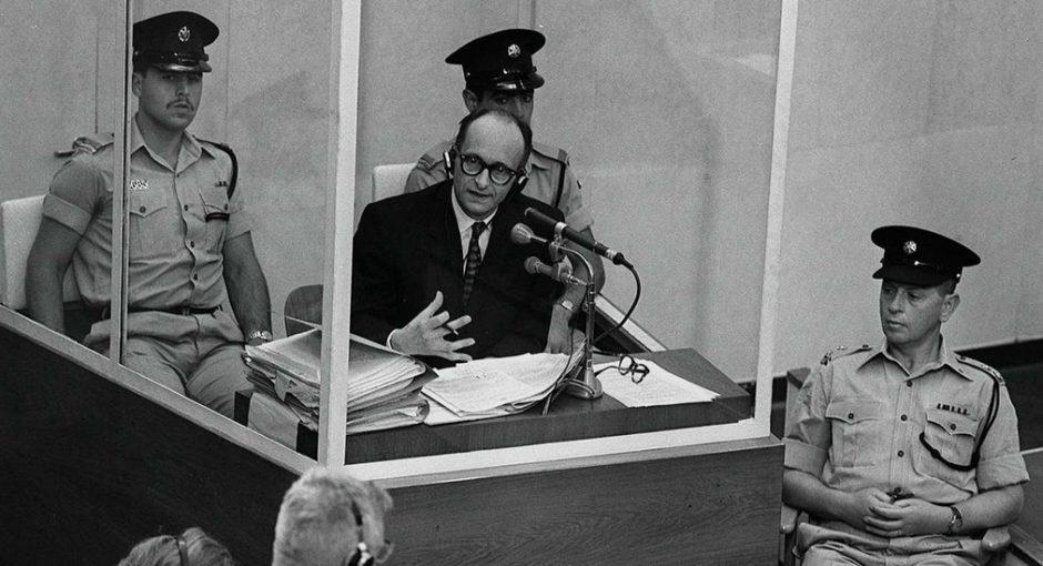 Adolf Eichmann en el judici a Jerusalem