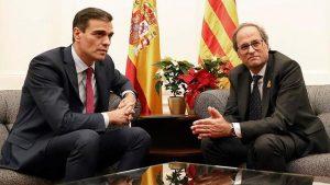 Quim Torra i Pedro Sánchez